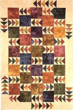 Geese in the Fields Quilt Pattern - The Virginia Quilter