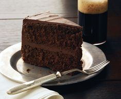 Chocolate Stout Layer Cake with Chocolate Frosting http://www.epicurious.com/recipes/food/views/Chocolate-Stout-Layer-Cake-with-Chocolate-Frosting-355249