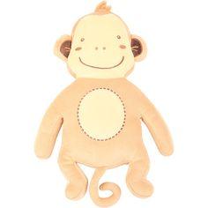 Poduszka FLAT małpka #pillow #monkey #kids #dream #gift #prezent  http://www.mojebambino.pl/poduszki-i-przytulanki/6839-poduszka-flat-malpka.html