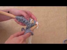 Tejer ¿Cómo tejer punto de arroz bicolor en lana? - WE ARE KNITTERS, UE, 2013 - YouTube