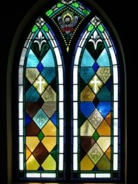 Gothic Stained Glass Window Patterns