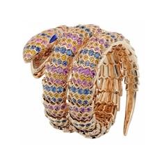 #Snake #Bulgari  #Gold  @Natalie of Jewels Du Jour