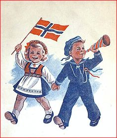 Cathrines Kreative Hjørne: Hurra for mai! Love My Family, My Love, Constitution Day, My Ancestors, Learn A New Language, Presentation Design, Folklore, Strand, Kansas