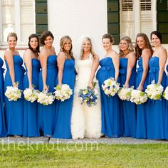sapphire blue wedding... but minus the orange | Going to the ...