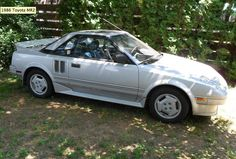 "Make: Toyota, MR2, Register: ZAV-222, Purchased: 1987, Sold: 1988, Comments: My first ""sports car"" with two seats and a mid engine."