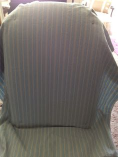 Sew Passionate: Parsons Chair Slip Cover Tutorial-Part 1 Pinfitting