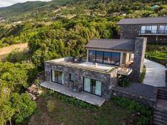 Image 5 of 52 from gallery of Lava Homes / Diogo Mega Architects. Photograph by Miguel Cardoso Lava, Tiny House, Glass Door, Old Houses, Layout Design, Interior And Exterior, Facade, House Design, Mansions
