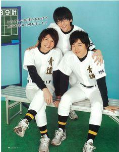 Shimazaki Nobunaga (Furuya Satoru)/ Hanae Natsuki (Kominato Haruichi)/ Osaka Ryota (Sawamura Eijun)