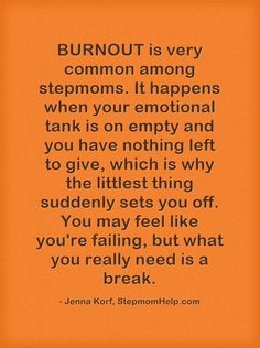 Prevent Stepmom Burnout!
