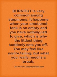 Prevent Stepmom Burnout!