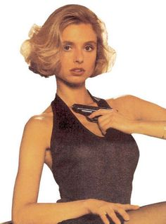 "Bond girl Kara Milovy (played by Maryam D'Abo in the 1987 James Bond film ""The Living Daylights"")"