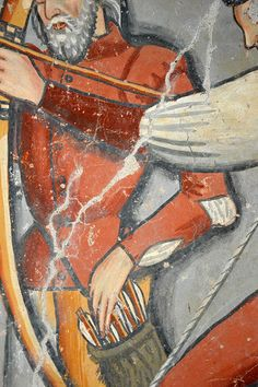 Medieval Weapons, Quiver, 15th Century, Middle Ages, Bows, Italy, Paintings, Projects, Arch