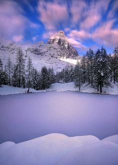 Matterhorn, Italian side, by Paolo De Faveri