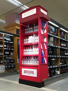 Point of Sale | Point of Purchase Design | POP | POSM | POS | Ponto de Venda | Punto de Venta | Beefeater Gin