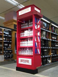 Point of Sale | Point of Purchase Design | POP | POSM | POS | Ponto de Venda | Punto de Venta | Beefeater Gin by Underline Concept