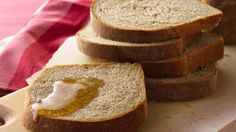 Reap the rewards of making homemade bread. This loaf adds a touch of warmth to any meal.