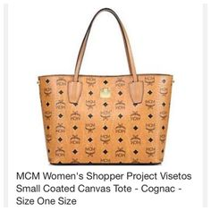 MCM tote Only accepting ️️ for this item MCM Bags Totes