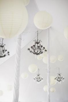 Pole Tent with chandeliers and lanterns Ontario, Lanterns, Pictures, Tents, Chandeliers, Heaven, Canada, Weddings, Design