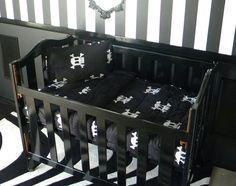 Skull-Themed Crib