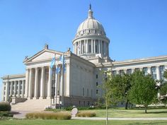 Discover Oklahoma state facts and Oklahoma history firsts. Check out Oklahoma state history timelines, early history, and historic facts. Oklahoma City, Travel Oklahoma, Capitol Building, City State, City Buildings, Taj Mahal, United States, 50 States