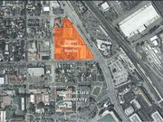 The site plan for what Irvine is calling Mission Town Center Apartment Homes. The Viso family owns most of the land.