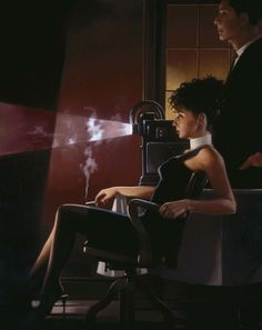 An Imperfect Past-Jack Vettriano