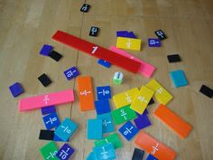 fun fraction game!  Roll a whole!