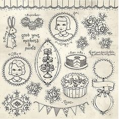 """Mixed Media Doodles"" paper from The Sweet Life Collection by Everyday is a Holiday for Melissa Frances."