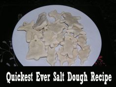 quickest ever salt dough recipe