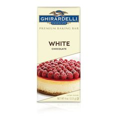 Ghirardelli Chocolate White Chocolate Premium Baking Bar - Premium Baking Bars -White Chocolate for Baking - I love using this when making things like peppermint bark. This is a great White Chocolate product.