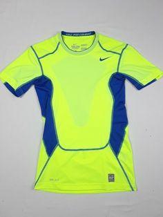 803254acf NIKE Pro Combat Dri-Fit Womens Medium Short Sleeve Hypercool Compression  Shirt M #Nike #ActivewearShortSleeve