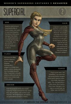 "Artist Lord Ingvard has created a series of of female superhero character designs that feature more practical and functional redesigns for several characters from the DC and Marvel universe. They include Wonder Woman, Supergirl, Elektra, Black Canary, Ms. Marvel, Vampirella, Red Sonja, Power Girl, and Zatanna. Here's what the artist had to say about her at series, and why she did it:   ""I love comics and superheroes as much as the next nerd, but the women's costumes—sweet mother of…"