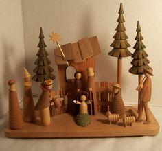 <3 this Polish Nativity Scene - Sitarski & Fedorowicz