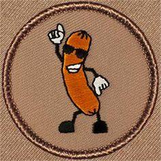 Dancing Hot Dog Patrol Patch (#357)