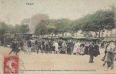 Belleville Paris, Paris 11e, Grafik Art, Paris Photos, France, Journal, Board, Painting, Antique Post Cards
