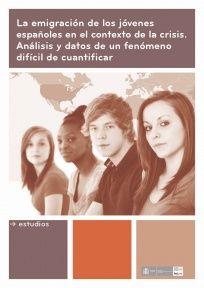 Portada del estudio Injuve 'La emigración de los jóvenes españoles en el contexto de la crisis'