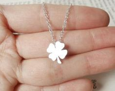 Lucky Shamrock In Sterling Silver