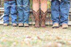 fun family boot pose