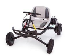 Go-Ped Gas Powered Full Suspension 4-Wheeled Trail Ripper Quad