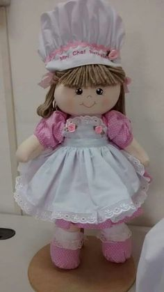 Do It Yourself Projects, Projects To Try, Sewing Dolls, Beautiful Dolls, Needlework, Harajuku, Children, Fabric, How To Make