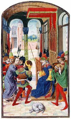 Mary of Burgundy's Book of Hours 1470s Manuscript (Codex Vindobonensis 1857), 225 x 163 mm (folio size) Цsterreichische Nationalbibliothek, Vienna