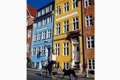 Arkitekturen på Christianshavn minder til forveksling om Amsterdams.