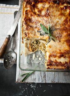 Pork, Pumpkin, Sage and Ricotta Cannelloni | Doesn't this look delicious? | From: whatkatieate.com