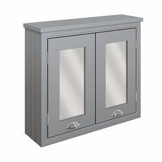 Moods Eterno 700mm Wall Mount Mirrored Bathroom Cabinet - Mist