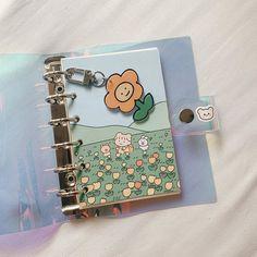 Binder Covers, Journal Covers, Pretty Handwriting, Notebook Art, Korean Stationery, Bullet Journal Notes, Cute Planner, Korean Aesthetic, Note Paper