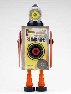 Robot vintage de Pitarque Robots, foto de Fernando Casarrubios