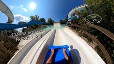 Caneva Aquapark Frozen Bob (Triple Slide) 360° VR POV Onride Vr, Frozen, Travel, Viajes, Destinations, Traveling, Trips