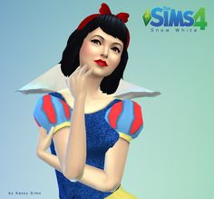 Snow White The Sims4  Download here http://kessysims.simplesite.com/427455185/3758943/posting/snow-white-download