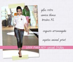 ~Shopaholic~ blog de moda: Look para hoy