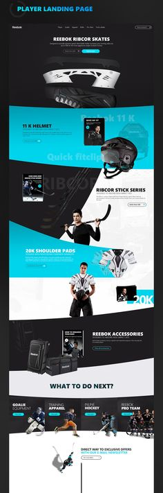 Reebokhockey on Web Design Served